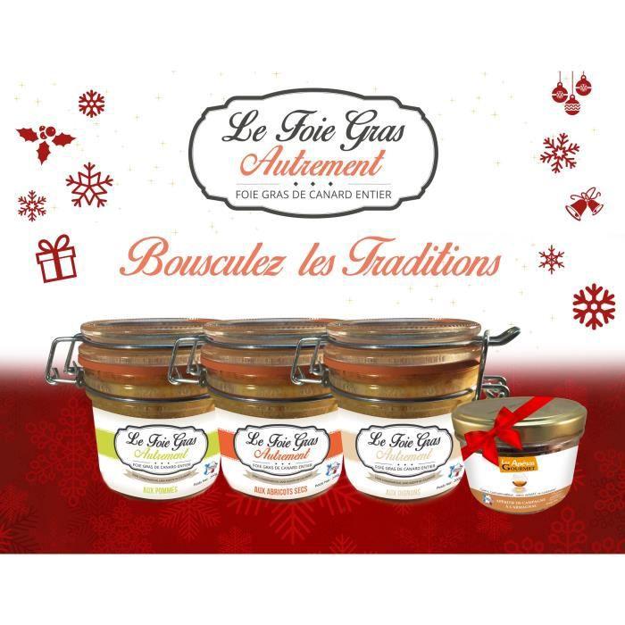 coffret 3 foie gras entier aux fruits achat vente coffret cadeau picerie coffret 3 foie. Black Bedroom Furniture Sets. Home Design Ideas