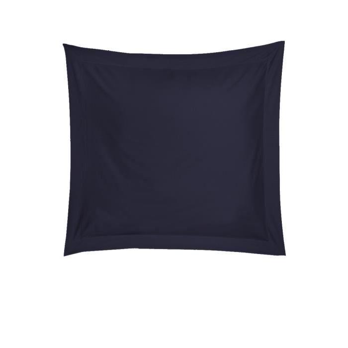 taie d 39 oreiller bleu marine bleu achat vente taie d 39 oreiller. Black Bedroom Furniture Sets. Home Design Ideas