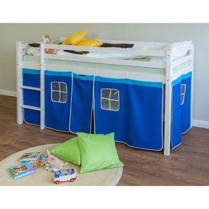 rideau tete de lit achat vente rideau tete de lit pas cher cdiscount. Black Bedroom Furniture Sets. Home Design Ideas