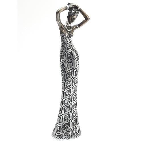 statue africaine resine