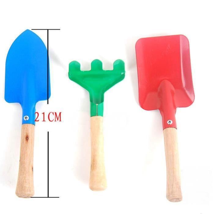 mega deal 3pcs mini outils de jardin pelle r teau jouets de plage sable achat vente. Black Bedroom Furniture Sets. Home Design Ideas