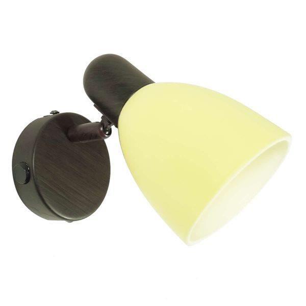 Spot applique murale ou plafonnier lampe avec interupteur for Applique murale 2 spots