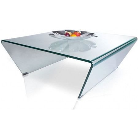 Table basse design texas en verre achat vente table basse table basse des - Table salon verre design ...