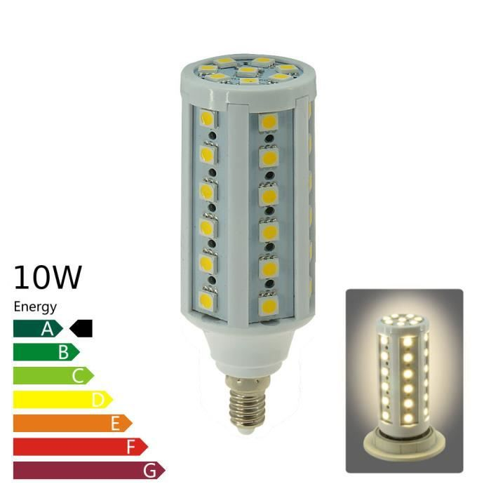 ampoule led e14 corn 10 watt blanc chaud achat vente ampoule led cdiscount. Black Bedroom Furniture Sets. Home Design Ideas