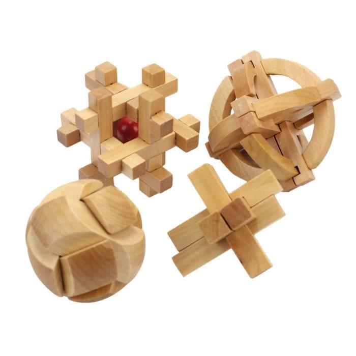 4x casse t te croix en bois cross in prison jouet jeu ducatif cadeau enfant achat vente. Black Bedroom Furniture Sets. Home Design Ideas