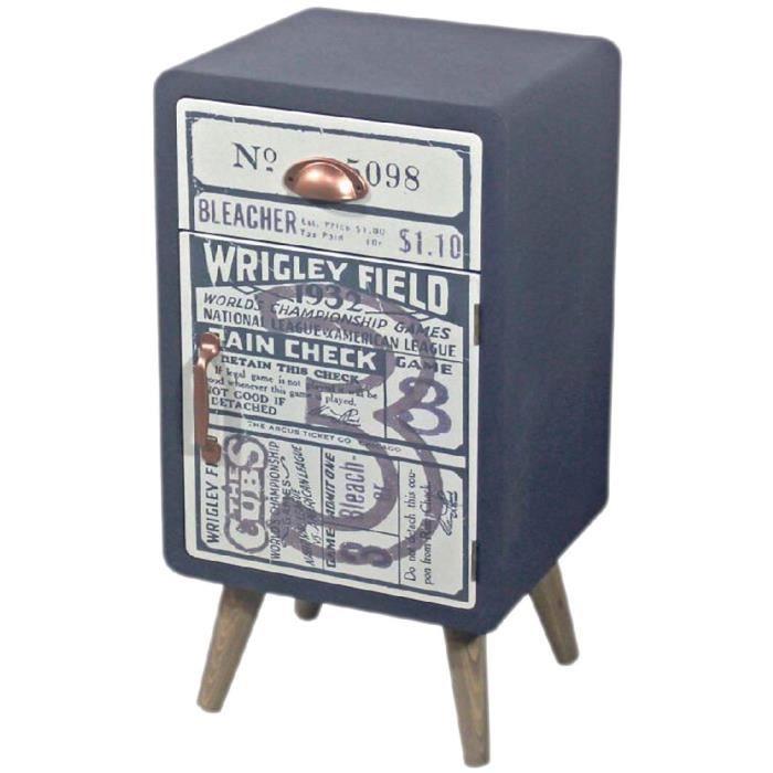 petit meuble deco en bois 50 cm achat vente petit. Black Bedroom Furniture Sets. Home Design Ideas