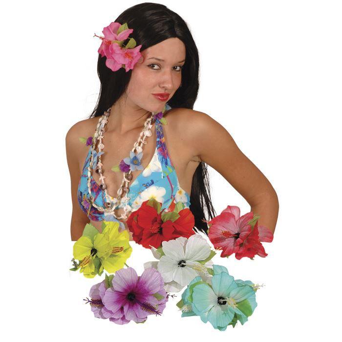 fleur pour cheveux accessoire hawaien achat vente accessoire d guisement cdiscount. Black Bedroom Furniture Sets. Home Design Ideas