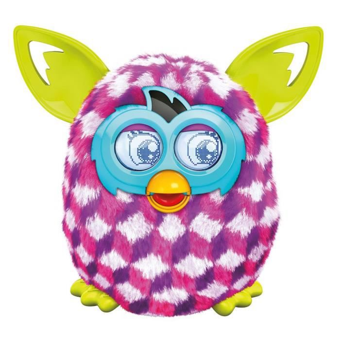 juniors peluches peluche interactive furby boom sweet rose vi f  has