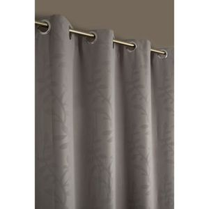 rideau motif feuillage achat vente rideau motif feuillage pas cher cdiscount. Black Bedroom Furniture Sets. Home Design Ideas
