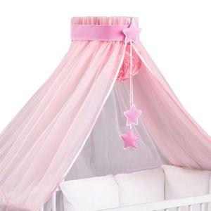 ciel de lit rose achat vente ciel de lit rose pas cher cdiscount. Black Bedroom Furniture Sets. Home Design Ideas