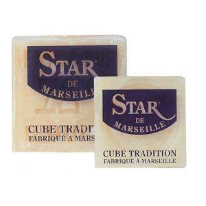 SAVON - SYNDETS Savon de Marseille cube tradition STARWAX. 300g.
