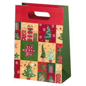 sacs papier noel achat vente sacs papier noel pas cher cdiscount. Black Bedroom Furniture Sets. Home Design Ideas
