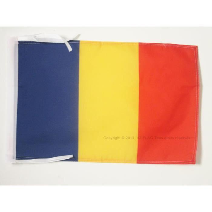Drapeau roumanie 45x30cm roumain haute qualit achat for Linge de maison haute qualite