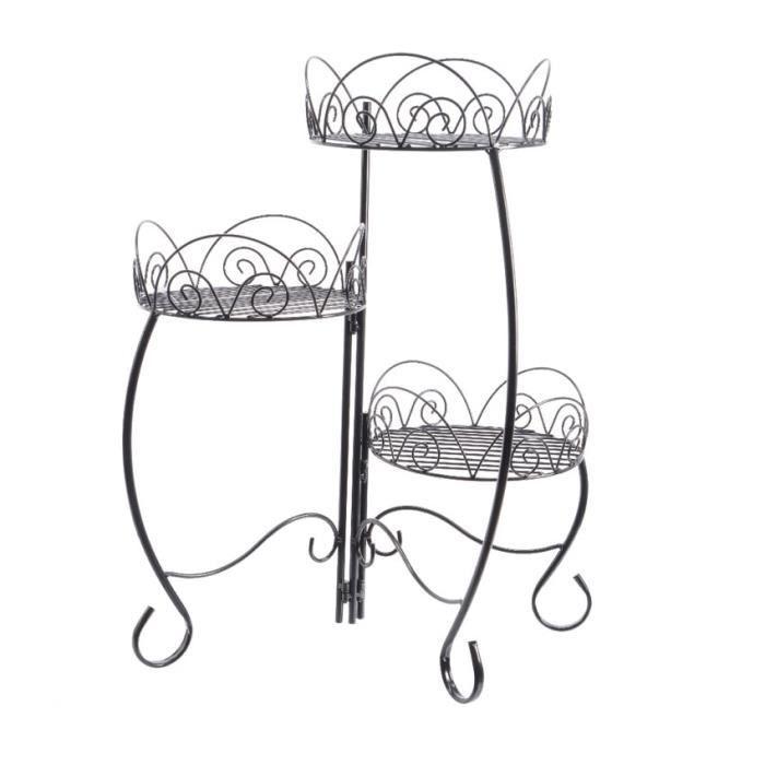 etag re d co pour fleurs arabesque achat vente etag re. Black Bedroom Furniture Sets. Home Design Ideas