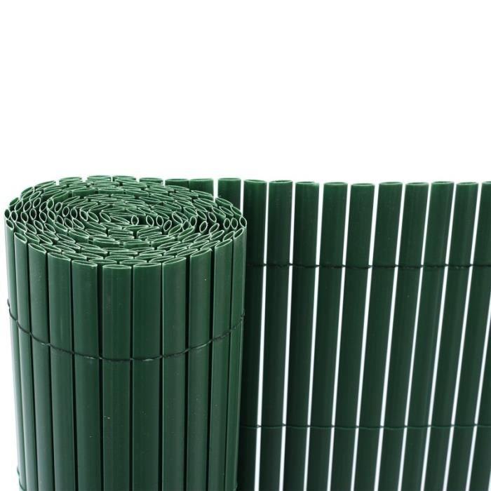 Brise vue Brise vent 120x300 cm vert paravent balcon jardin plastic ...