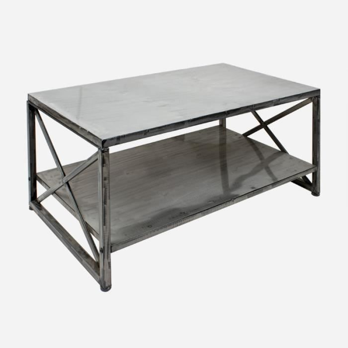 Table passion table basse atelier 92x61xh46 achat vente table basse tab - Table basse atelier loft ...