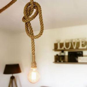 suspension corde achat vente suspension corde pas cher. Black Bedroom Furniture Sets. Home Design Ideas