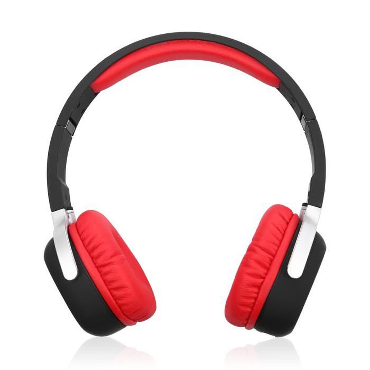 newbee nb 9 casque audio rouge sans fil r glable podom tre sports app headphone bluetooth v4 1. Black Bedroom Furniture Sets. Home Design Ideas