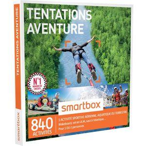 COFFRET BIEN-ÊTRE Coffret Cadeau Tentations aventure - 600 activités