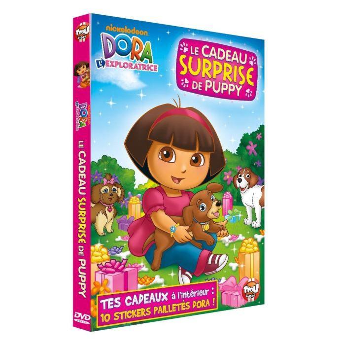 dvd enfants animation manga dora et le cadeau surprise puppy f