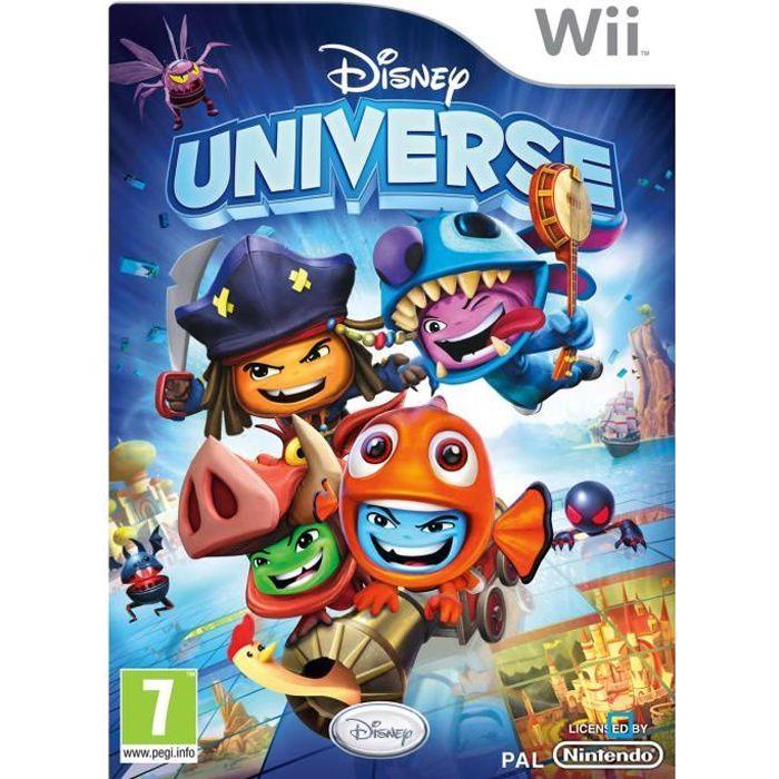 JEUX WII Disney Universe Jeu Wii
