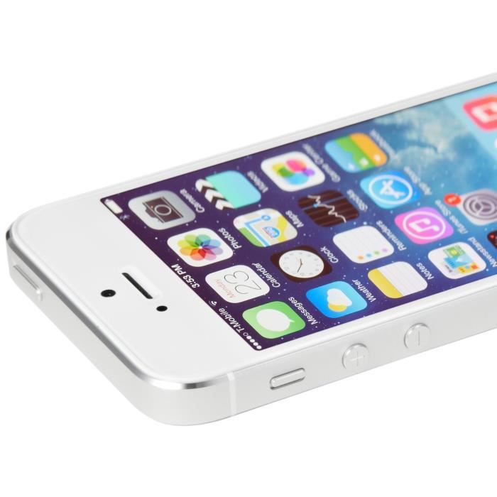 apple iphone 5s blanc 32go neuf recon achat smartphone. Black Bedroom Furniture Sets. Home Design Ideas
