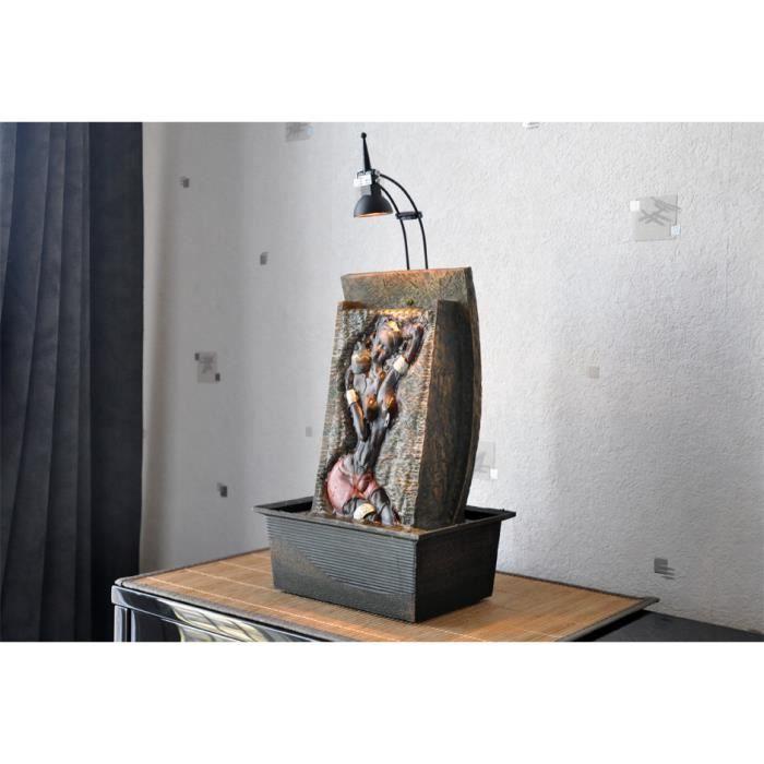 fontaine int rieur cascade femme africaine konoga achat vente fontaine int rieure les. Black Bedroom Furniture Sets. Home Design Ideas