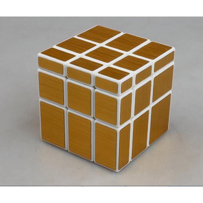 le nouveau mirror cube3x3x3 dor achat vente jeu magie. Black Bedroom Furniture Sets. Home Design Ideas