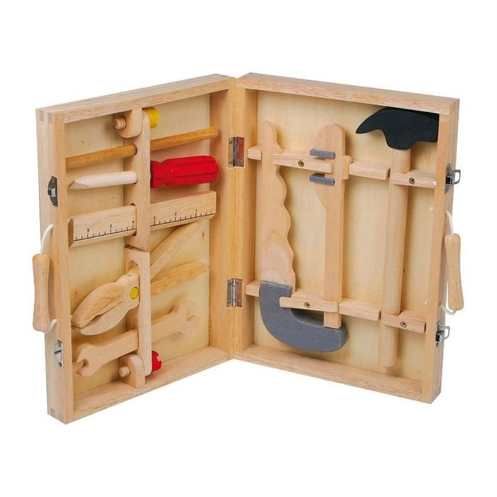 Boite outils woody 100 bois achat vente bricolage tabli cdiscount - Marque outils bricolage ...