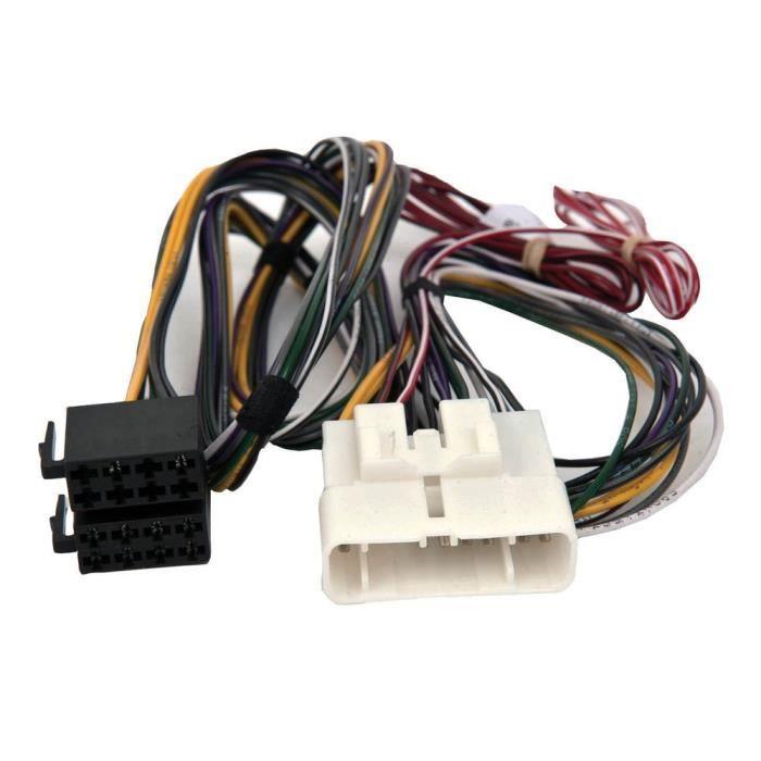faisceau autoradio connecteur iso bypass ampli lexus is300 2001 2004 achat vente. Black Bedroom Furniture Sets. Home Design Ideas