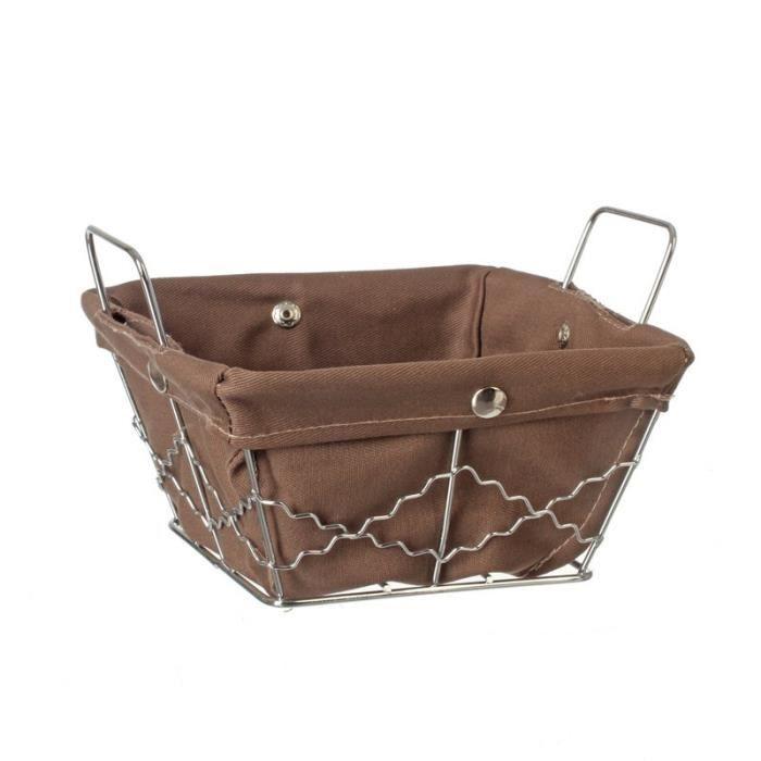 paris prix panier de rangement carr muli usage taupe achat vente casier pour meuble. Black Bedroom Furniture Sets. Home Design Ideas