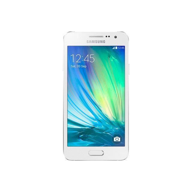Samsung galaxy a3 blanc achat smartphone pas cher avis for Photo ecran galaxy a3
