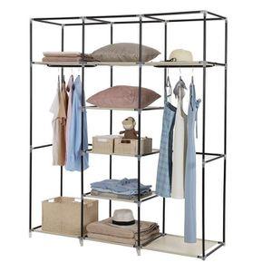 armoire 150 cm de hauteur achat vente armoire 150 cm. Black Bedroom Furniture Sets. Home Design Ideas