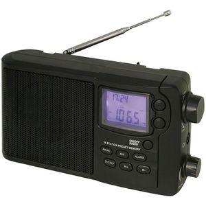 ROADSTAR TRA 2425 Radio De Voyage Multibandes - Pll - 12 Gammes : 10 Sw/Mw - Fonctions Montre/Réveil - Sortie Casque