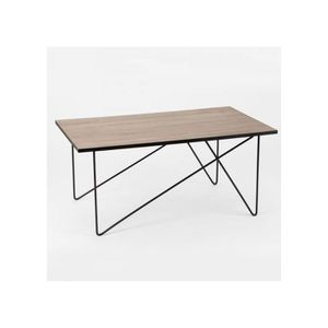 Table basse bois metal achat vente table basse bois - Table basse bois et metal pas cher ...