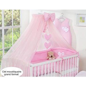 rideaux ciel de lit chambre b b achat vente rideaux ciel de lit chambre b b pas cher. Black Bedroom Furniture Sets. Home Design Ideas