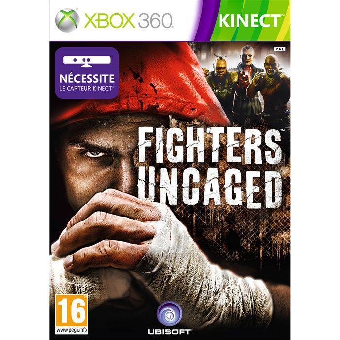 fighters uncaged jeu xbox360 kinect achat vente jeux. Black Bedroom Furniture Sets. Home Design Ideas
