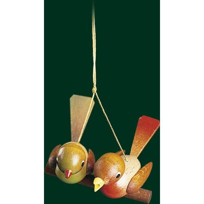 Suspendus ornement sapin de no l paire d 39 oiseaux achat vente kit de decoration cdiscount - Variete de sapin d ornement ...