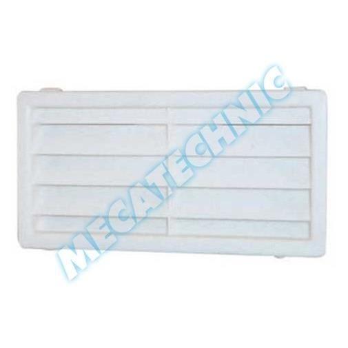 grille a ration coffre blanc 161x82 mm achat vente capot grille grille a ration coffre. Black Bedroom Furniture Sets. Home Design Ideas