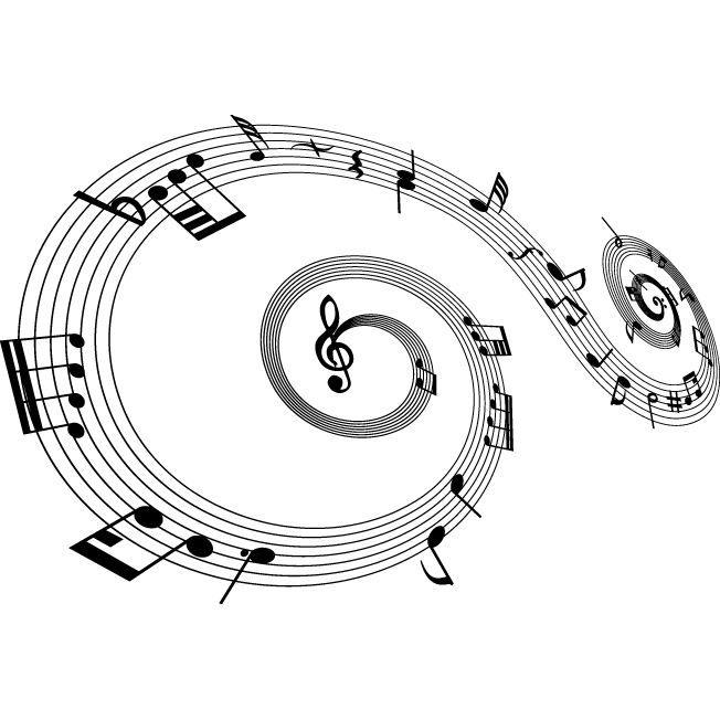 Sticker note de musique 008 115x78 cm achat vente for Decoration murale note de musique