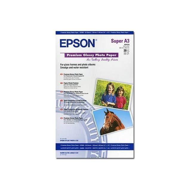 epson c13s041316 papier photo premium a3 prix pas. Black Bedroom Furniture Sets. Home Design Ideas