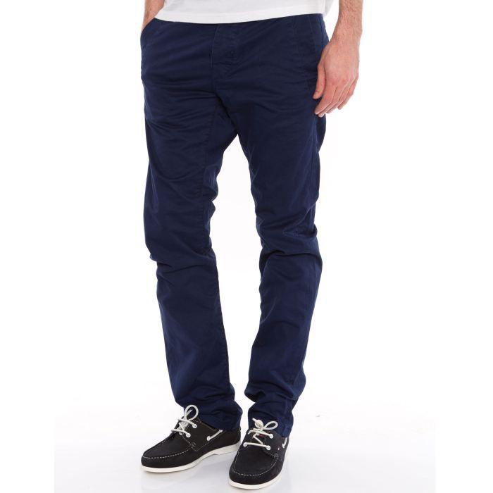 pantalon bleu homme. Black Bedroom Furniture Sets. Home Design Ideas