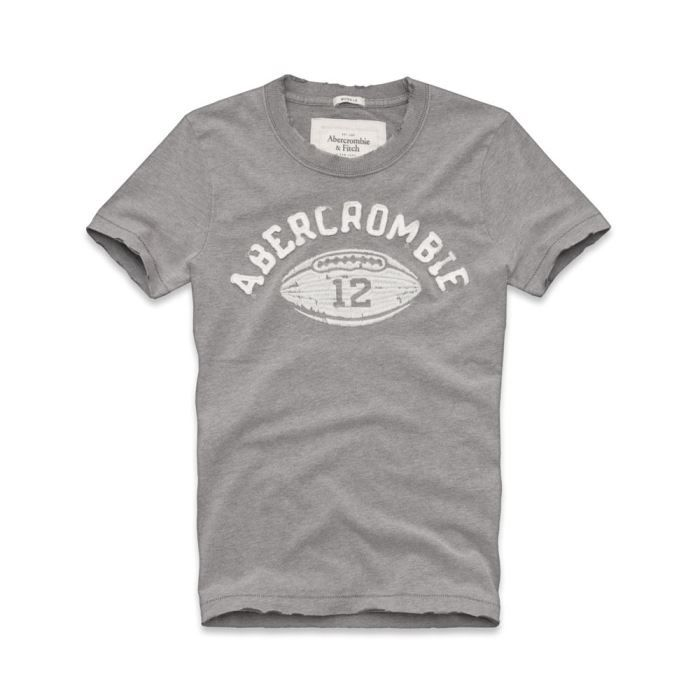 tee shirt abercrombie and fitch gris 12 gris achat vente t shirt cdiscount. Black Bedroom Furniture Sets. Home Design Ideas