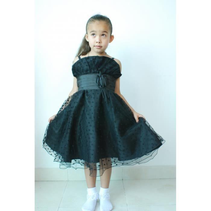 Robe de demoiselle d 39 honneur noir bleu achat vente robe de c r monie cdiscount - Robe de demoiselle d honneur bleu ...