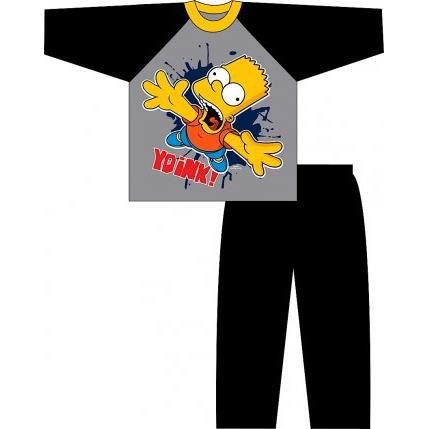 pyjama simpson bart 3 4 ans achat vente pyjama chemise de nuit pyjama simpson bart 3 4 ans. Black Bedroom Furniture Sets. Home Design Ideas