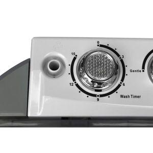 Camry Mini Machine à Laver 3 Kg Avec Essoreuse Lave Electroménager