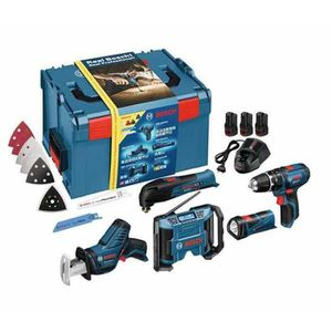 PACK DE MACHINES OUTIL BOSCH Pack 5 machines 3x10,8v 2Ah