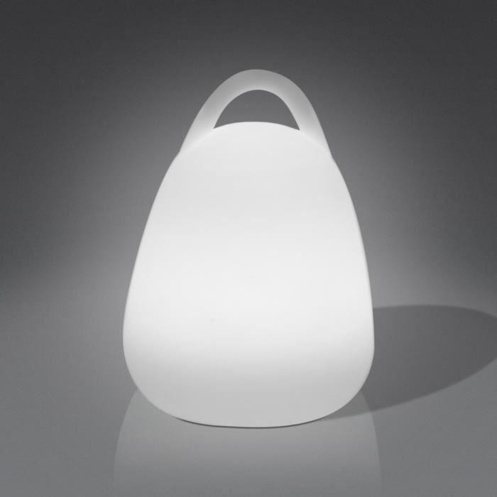 lanterne lampe lanterne led multicolore par interieure exterieure avec coquille en polyethylene. Black Bedroom Furniture Sets. Home Design Ideas