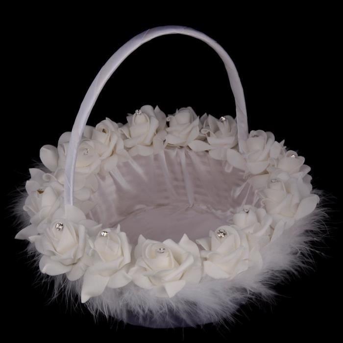 Panier A Fleur Mariage Pas Cher : Panier mariage achat vente pas cher