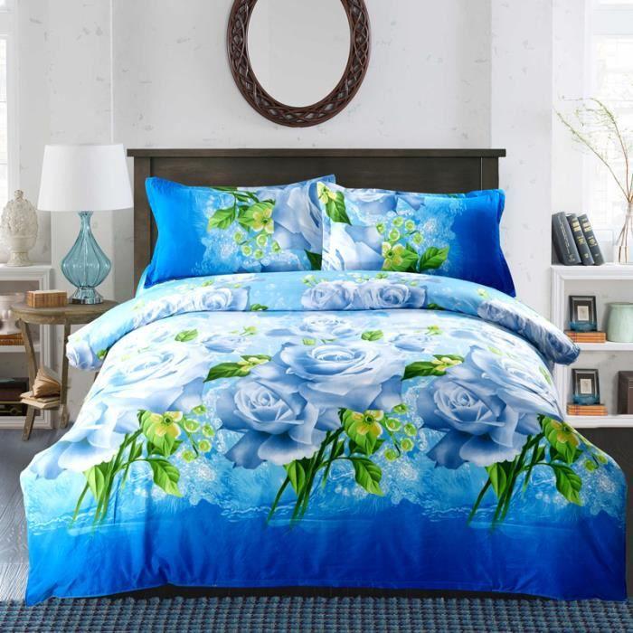 housse de couette 200 x 230cm 3d adulte parure de lit adulte bedding set luxury couette de lit. Black Bedroom Furniture Sets. Home Design Ideas